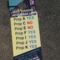 San Francisco's Proposition F fails