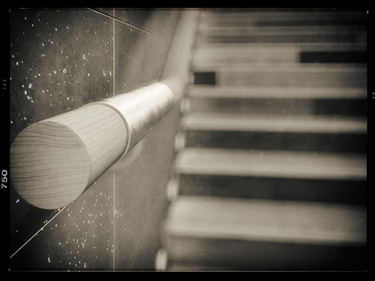 Handrail_close_up_B&W