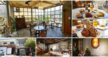 恆春咖啡廳美食 伯虎在二樓 老屋甜點下午茶~夢幻玻璃露臺享用手工麵包
