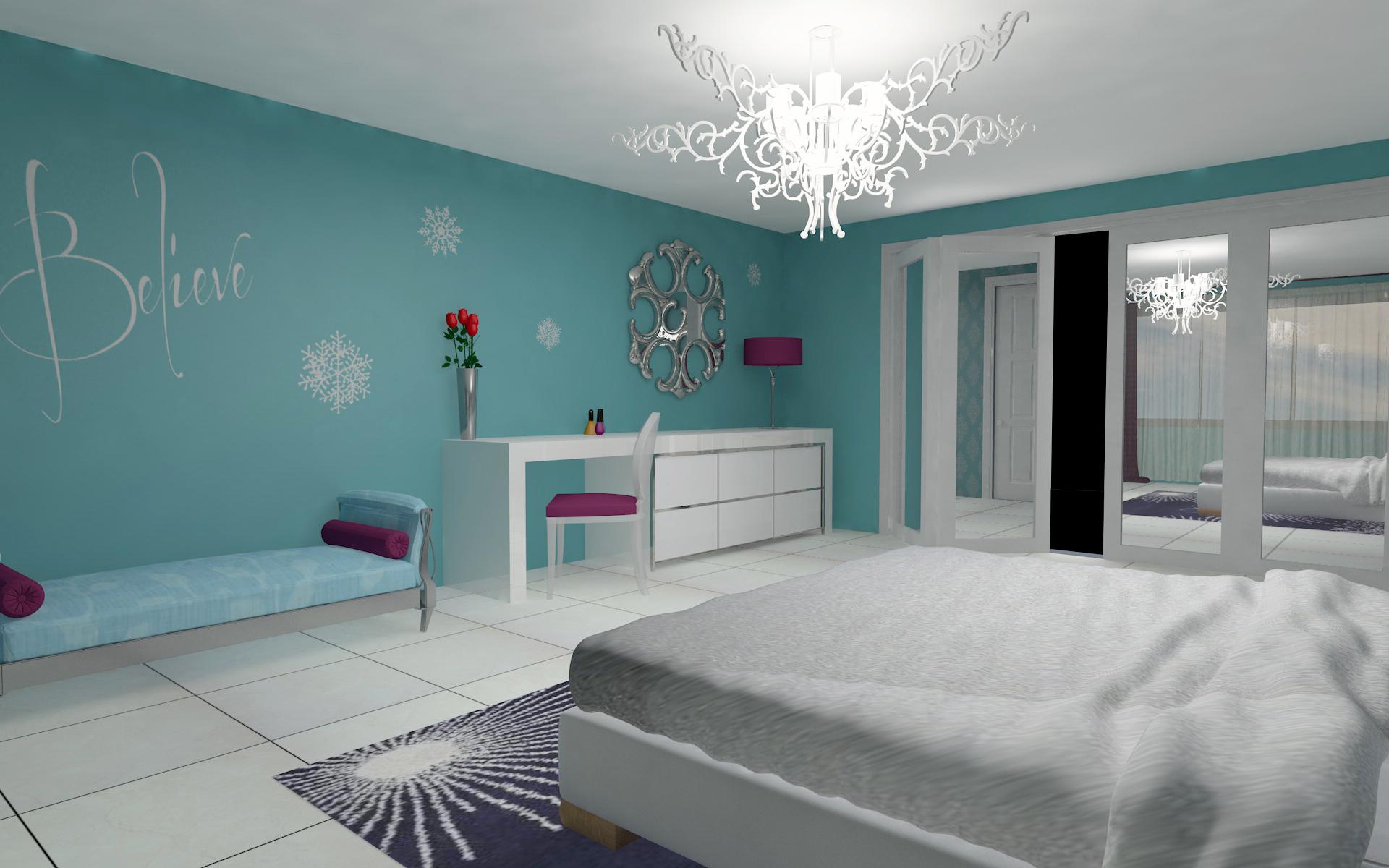 Frozen Bedroom Ideas