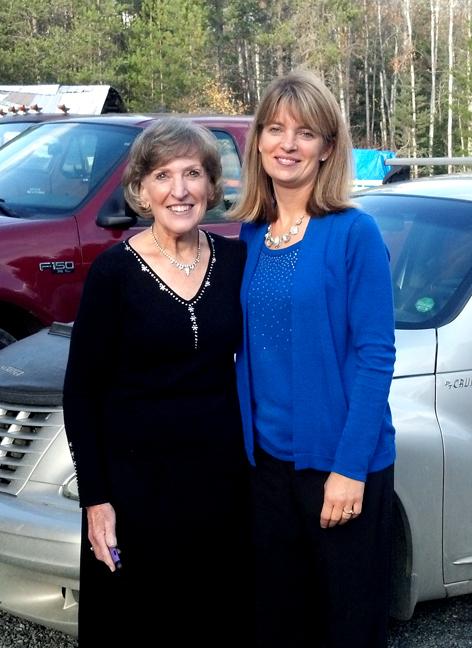 My beautiful Mom and I