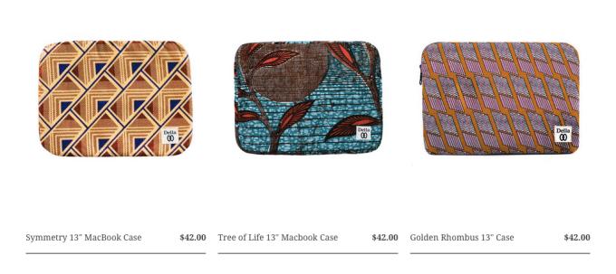 Dellala Handmade Laptop Cases