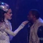 Katy Perry actuó junto a Kanye West en American Idol