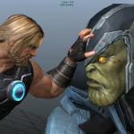 Salen a la luz imágenes del videojuego cancelado de «Los Vengadores»