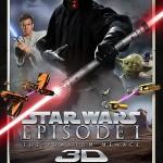 Primer cartel de «Star Wars Episodio I La Amenaza Fantasma» en 3D