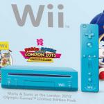 Nintendo anuncia un pack especial de «Mario & Sonic» para los Juegos Olímpicos de Londres 2012 con una Wii azul