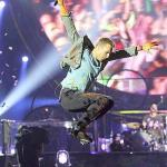 Coldplay actuó anoche en Madrid