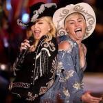 Disfruta de la actuación de Miley Cyrus y Madonna juntas en MTV Unplugged