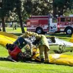 Harrison Ford se estrella pilotando una avioneta