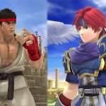 Se filtran dos nuevos luchadores de 'Super Smash Bros', Roy y Ryu