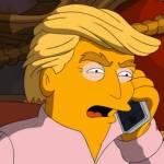 Los Simpsons desvelan  a quien van a votar