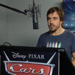 El cameo de Fernando Alonso en Cars 3