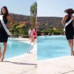 El divertido accidente de una aspirante a Miss España que se ha hecho viral