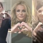 Britney Spears, Demi Lovato y Celine Dion juntas en un vídeo