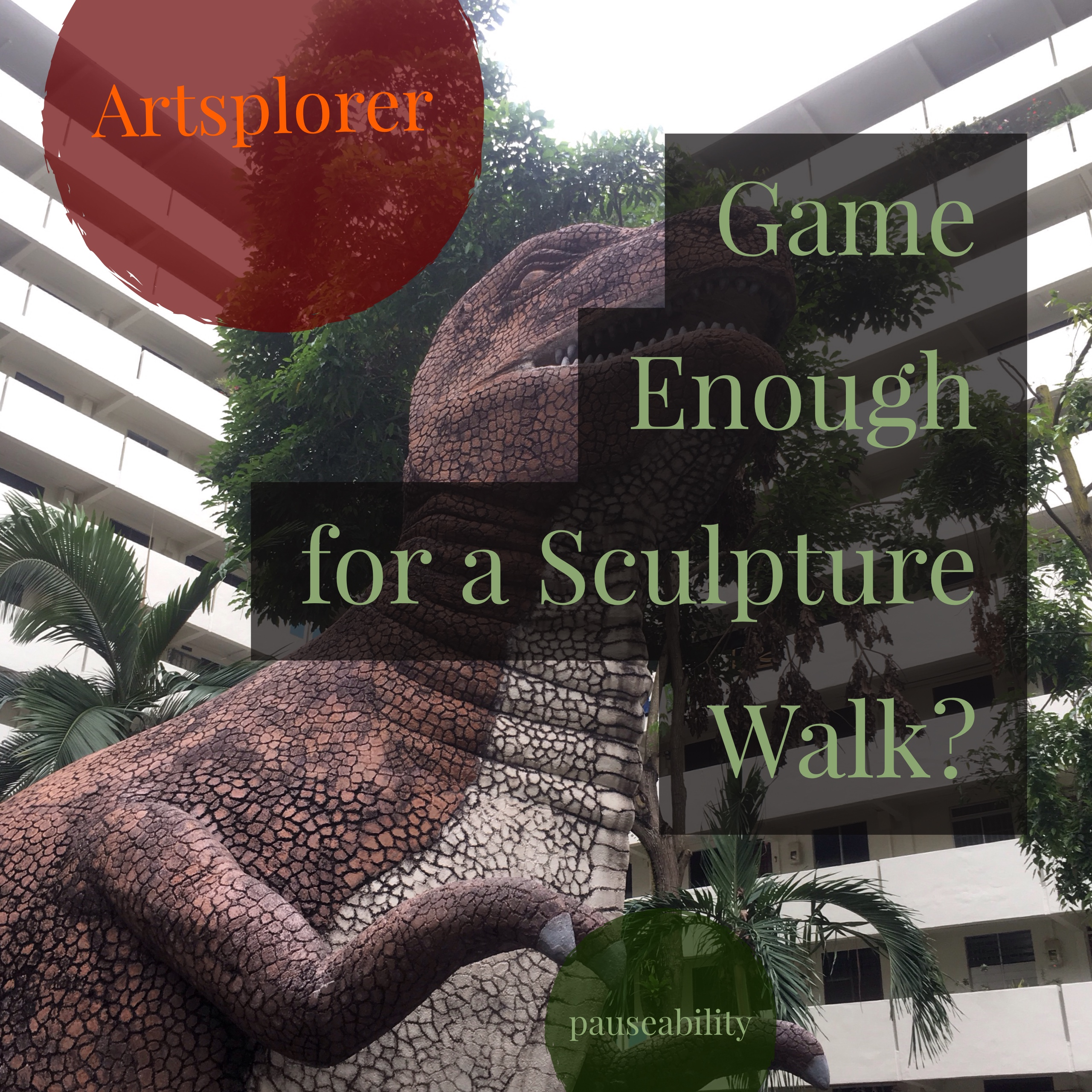Game for a Sculpture Walk?