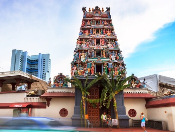 Temple Sri Mariamman of Singapour