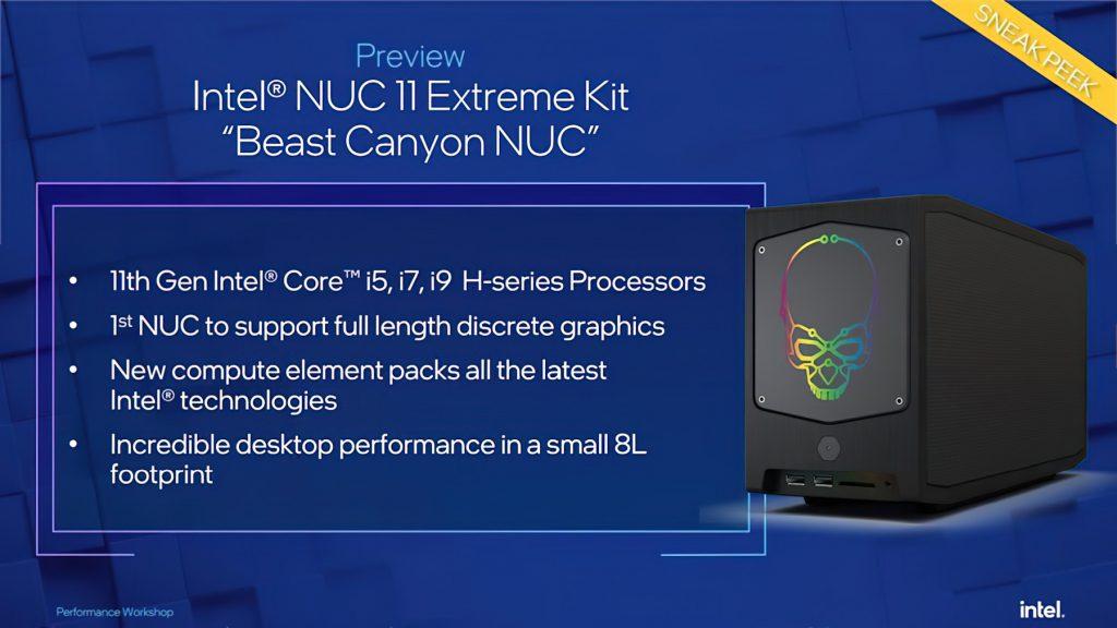Intel-Beast-Canyon-NUC-11-Extreme