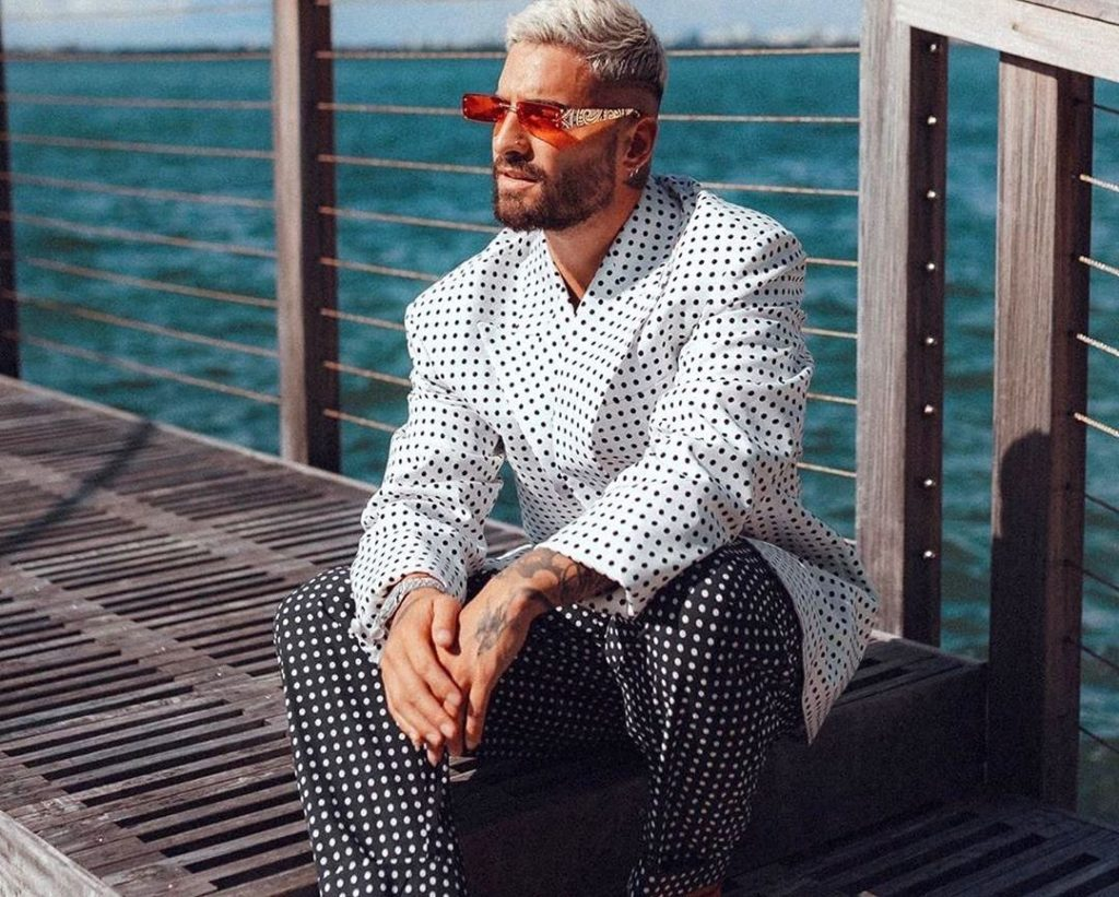 SPOTTED: Maluma in Balmain for Vogue Hommes – PAUSE Online | Men's Fashion, Street Style, Fashion News & Streetwear