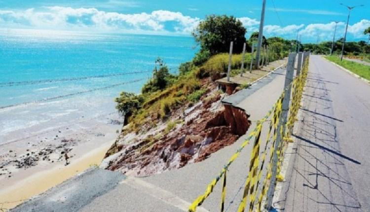 Barreira do Cabo Branco já tem data para início da obra de drenagem