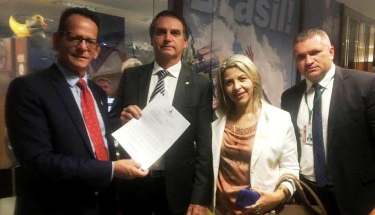 Marcos Vinícius acerta vinda de Bolsonaro para ciclo de debates na CMJP