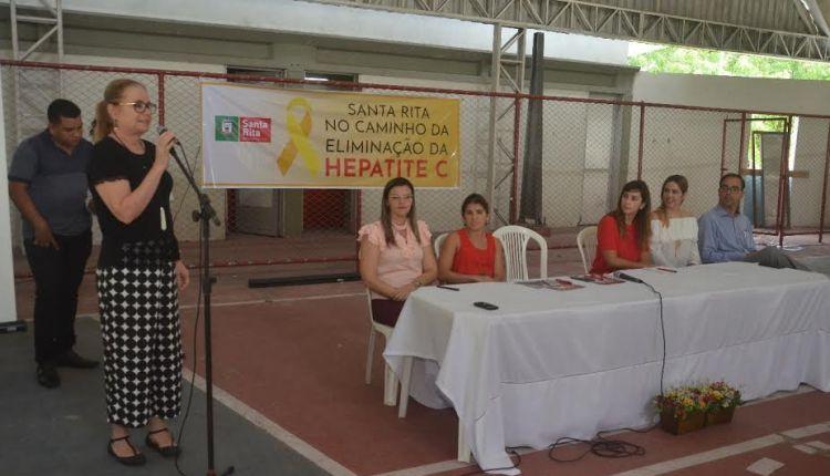 Santa Rita é um dos 7 municípios brasileiros escolhidos para projeto de erradicação de hepatite C