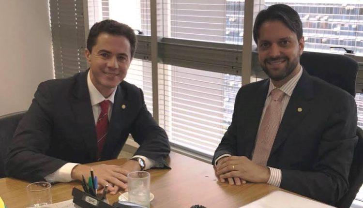 Veneziano se reúne com Ministro das Cidades e faz novos pleitos para Campina