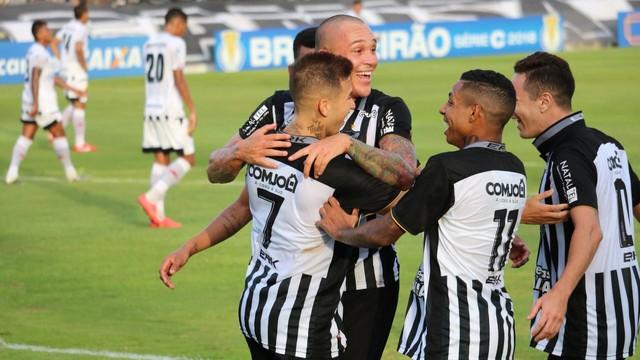Botafogo-PB não joga bem, perde a primeira na Série C e cai para terceiro