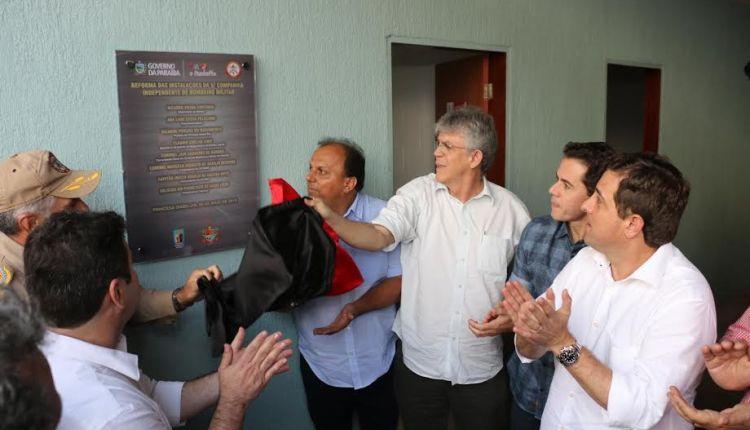 Ricardo inaugura 5ª Companhia Independente de Bombeiro Militar em Princesa Isabel