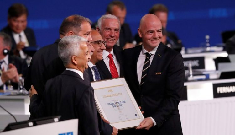 Com 48 seleções, Copa do Mundo de 2026 será realizada em três países