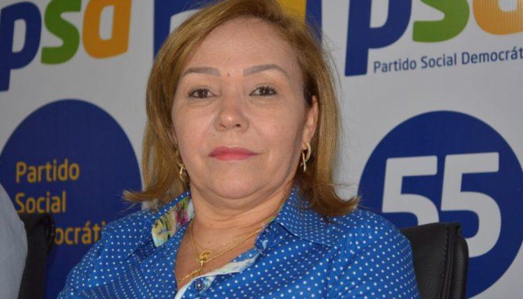 Em mais uma nota divulgada, Eva confirma apoio incondicional do PSD ao nome de Lucélio