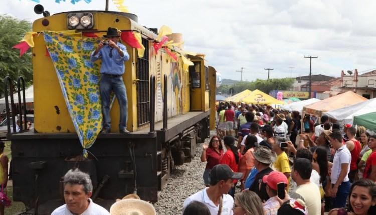 Locomotiva do Forró realiza viagem especial neste domingo para alunos do Sistema Municipal de Ensino