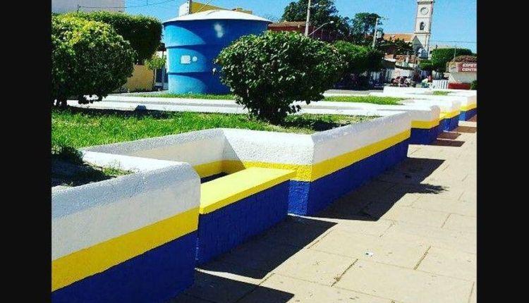Promotoria aciona prefeita por pintura de prédios públicos com as cores do partido