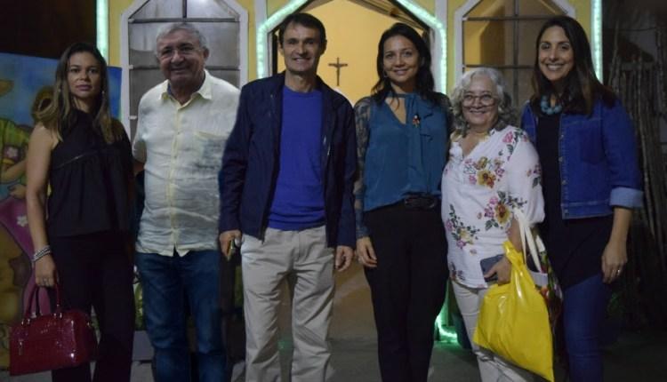 Prefeito Romero Rodrigues recebe visita da primeira-dama de João Pessoa na Vila do Artesão