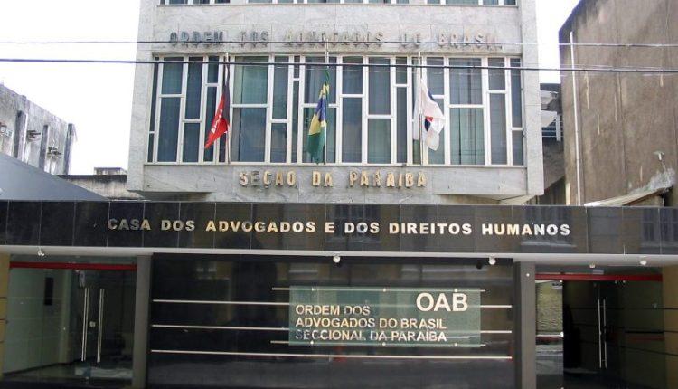 OAB-PB realizará debates com pré-candidatos ao Governo da Paraíba