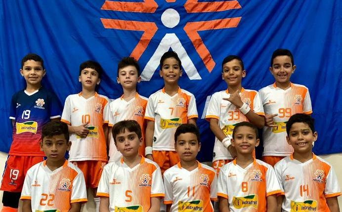 Equipe sub-9 da APCEF vence campeonato paraibano de futsal e se prepara para Taça Brasil