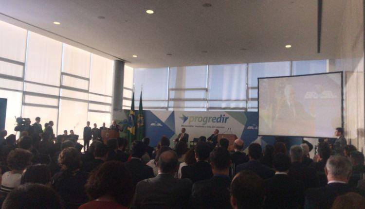 OUÇA: André Amaral participa de cerimônia do Progredir e fala sobre os investimentos do programa
