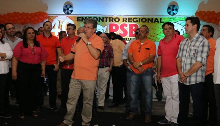Em Sumé, João destaca avanços da gestão do PSB no Cariri e fala da missão de substituir Ricardo