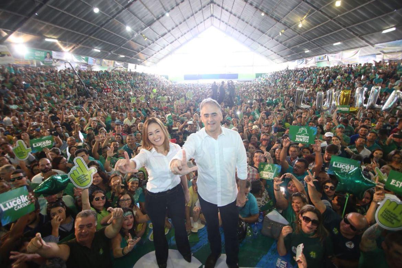 Nos braços da população, Lucélio Cartaxo oficializa sua candidatura ao Governo do Estado