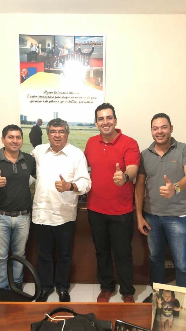 Dr. Verissinho adere ao projeto de Roberto Paulino para o Senado Federal