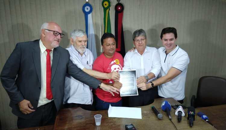 Coletiva de Azevêdo foi para apresentar Carta de Lula em apoio as candidaturas do PSB na PB