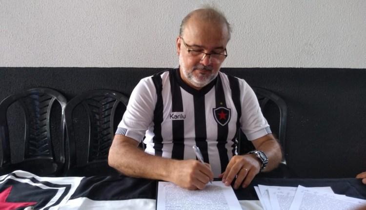 Sérgio Meira é o novo presidente do Botafogo-PB pelo próximo biênio