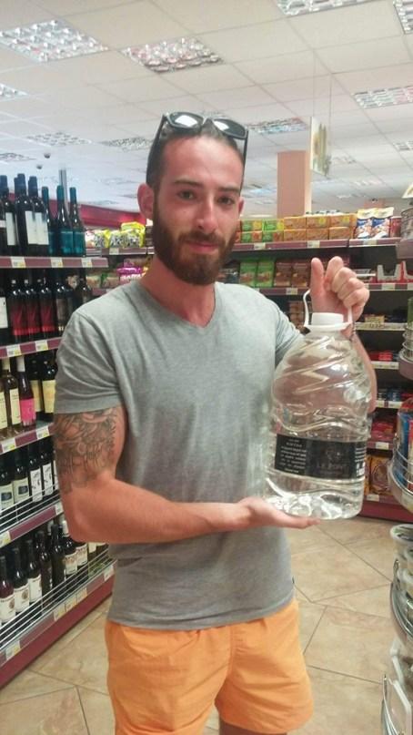 5L bottle of Ouzo