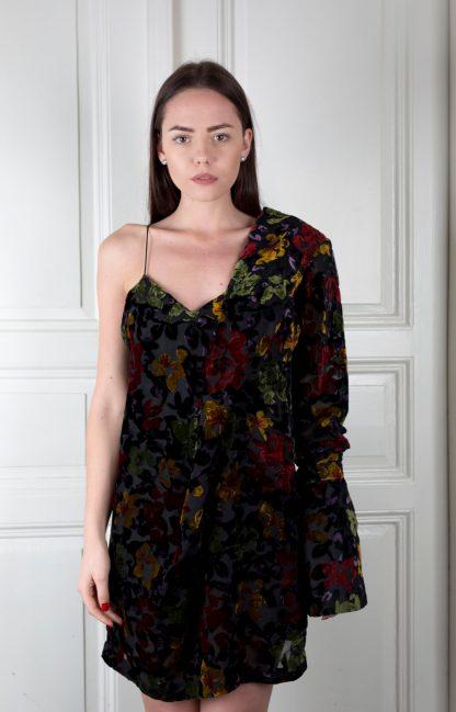 Pavel Berky asymetrické šaty