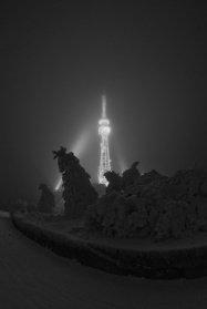Телевышка на вершине Машука в Пятигорске