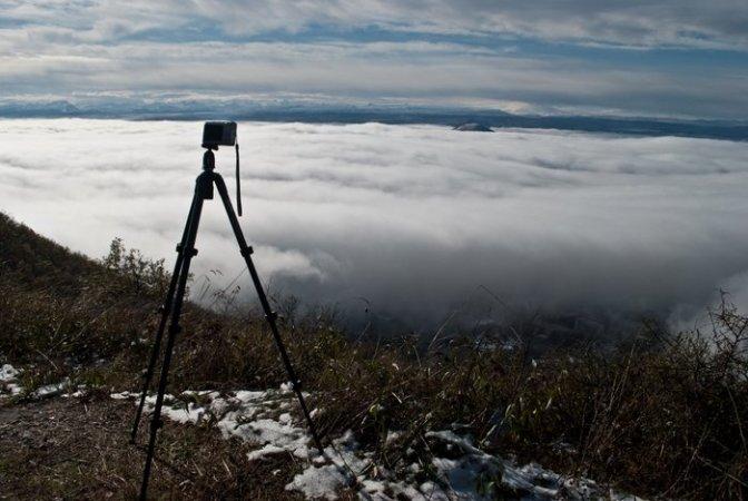 Вершина Машука, туман