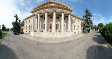 НИИ курортологии Пятигорска - панорама