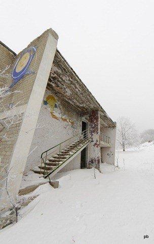 Заброшенный лагерь Орлиные скалы в Лермонтове