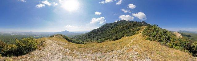 Лето, ветер и простор на Бештау