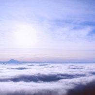 Вид на туманный Пятигорск