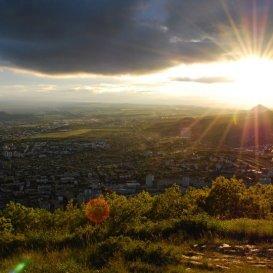 Закат над Пятигорском - конец лета